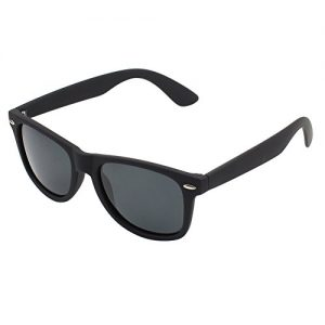 925cca236080 CGID Polarised Wayfarer Sunglasses – Black Cat 4 Lenses Offering Full UV400  Protection – Available in 6 Colours – Complete with Cleaning Cloth &  Waterproof ...