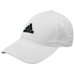 adidas Mens Golf Sports Flexible Peak Cap Hat Touch And Close Brand New White Mens